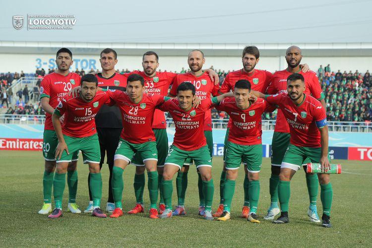PFC Lokomotiv UZBEKISTAN 2018 fc