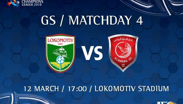 PFC Lokomotiv v Al Duhail SC