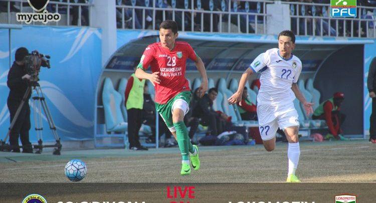 Oliy Liga: So'g'diyona - Lokomotiv